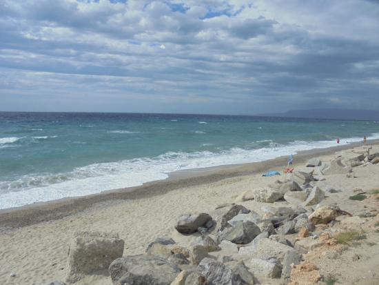 Villaggio La Quiete: la plage