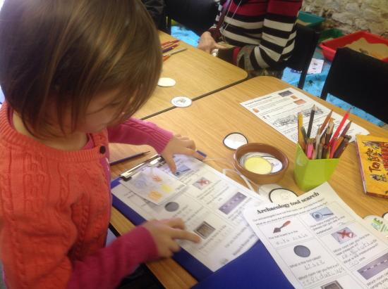 Keeping Her Worksheet And Coin Rubbing Paper Neat Ready For Show And