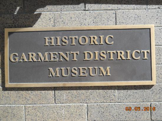 Garment District Museum