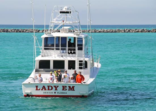 Lady Em Destin Florida Charter Fishing
