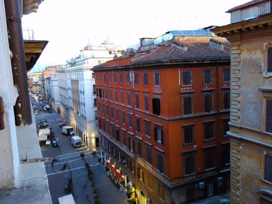 Vista do Hotel Giorgina, no 5º andar.