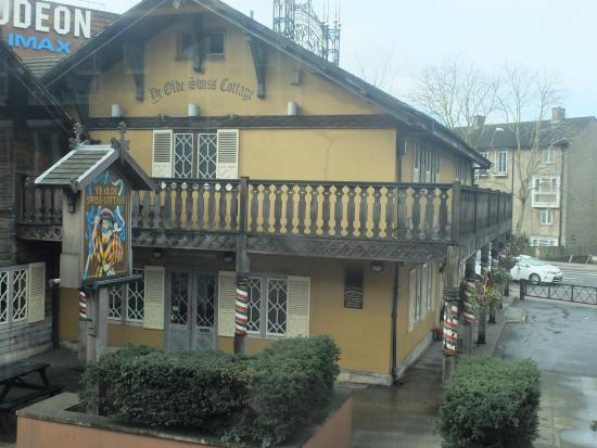 balcony picture of ye olde swiss cottage london tripadvisor rh tripadvisor com sg swiss cottage london gym swiss cottage london cinema