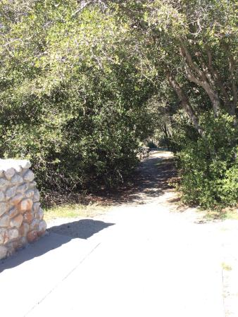 A small outlet on the way up to Idyllwild. You get a beautiful panorama view of everything down