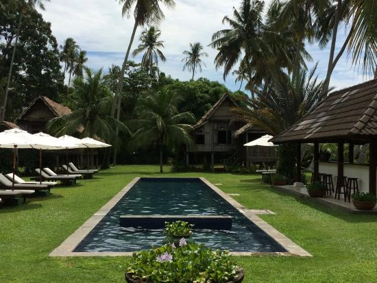 the pool although long and slim was much nicer than a square pool as rh tripadvisor ie