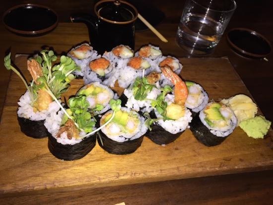 Picture of blue ribbon sushi bar grill new for 195 american fusion cuisine