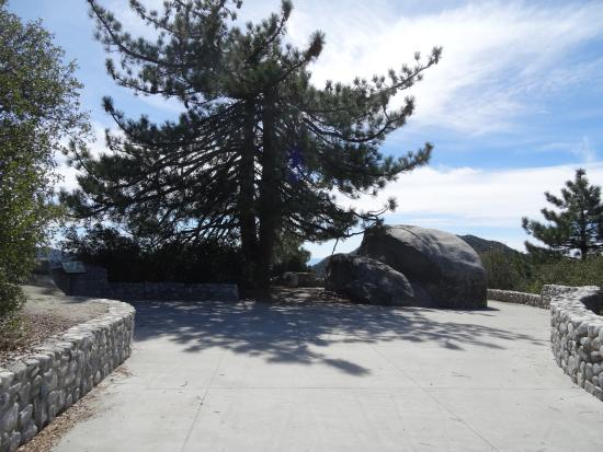 Idyllwild, Californien: The vista's entrance