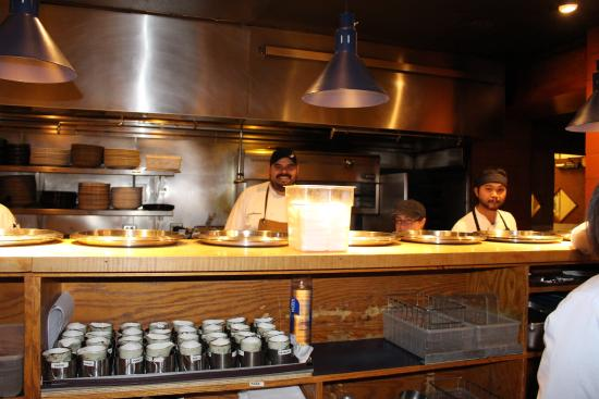 The kitchen picture of topolobampo chicago tripadvisor for Table 52 chicago tripadvisor