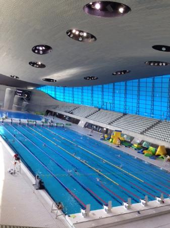 Olympic aquatic centre london picture of london - Stratford swimming pool opening times ...