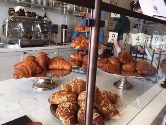 Menlo Park, Californië: croissants