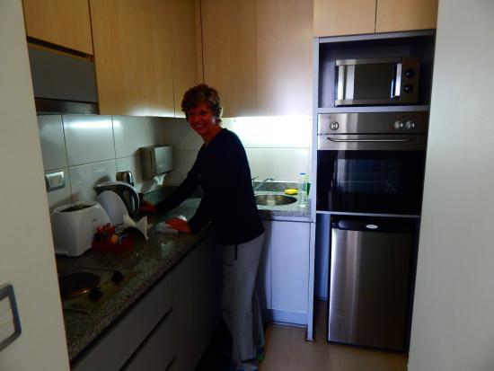 Apart hotel visandell santiago chile opiniones y for Ofertas cocinas completas