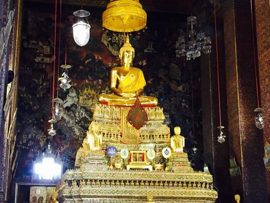 Wat Pho (Tempel des liegenden Buddha): Wat Pho (Templo de Buda reclinado)