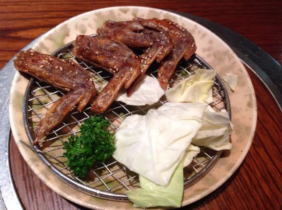 Toriyoshi (Kichijoji 4): Chicken wings (I ate one already..should be 5 in an order)