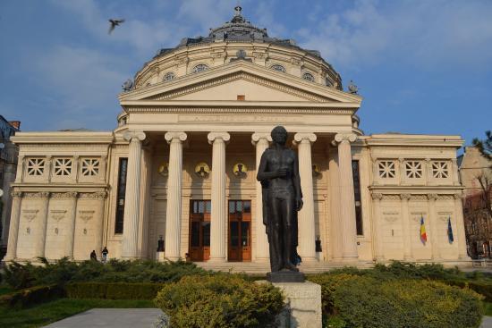 Romanian Athenaeum (Ateneul Roman): Ateneo rumeno