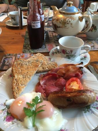 Hawke's Bay Region, Nova Zelândia: Breakfast!