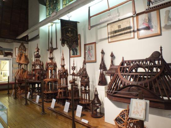 Musée du Compagnonnage : des charpentes extraordinaires