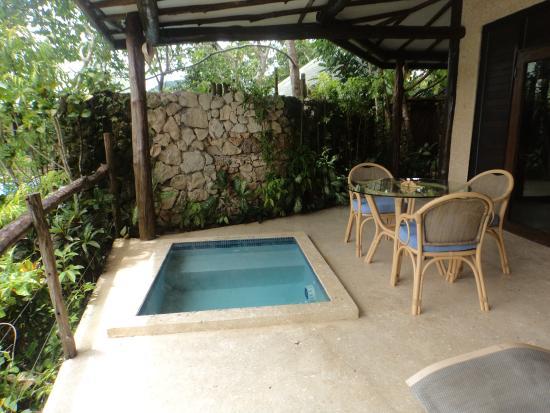 Savasi Island Villas: Blue Lagoon 1 plunge pool