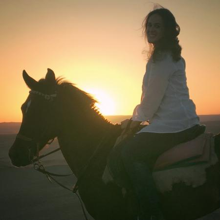 Pharaoh's Stables : A sunset ride with friends...nothing better!