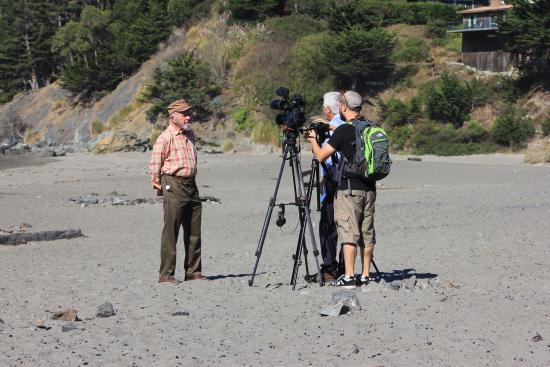 Muir Beach, CA: Making a documentary