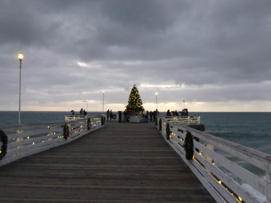the pier at christmas time picture of crystal pier hotel rh tripadvisor com my