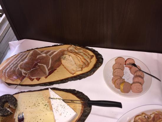 Strandcafe Ottilie: Impressionen vom Frühstücksbüffet