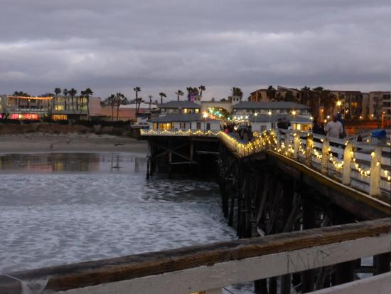 the pier at christmas time picture of crystal pier hotel rh tripadvisor com