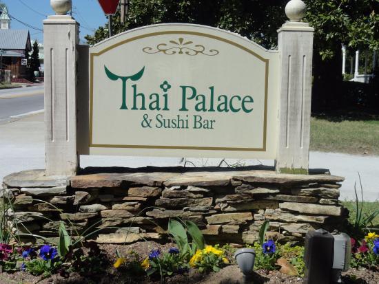 Thai Palace and Sushi Bar: Thai Palace