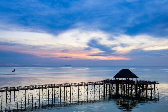 Sea Cliff Resort & Spa: Our Jetty at Sunset