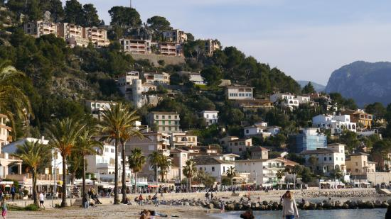 sch ne terrassen h user picture of puerto de soller. Black Bedroom Furniture Sets. Home Design Ideas