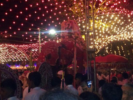 Kataragama, Srí Lanka: Perehera 2015