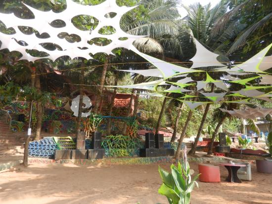 Anjuna, India: The Dance floor