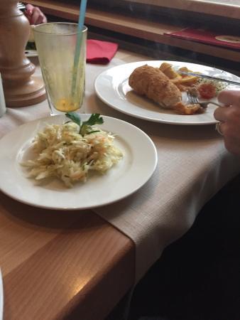 Nice food and setting