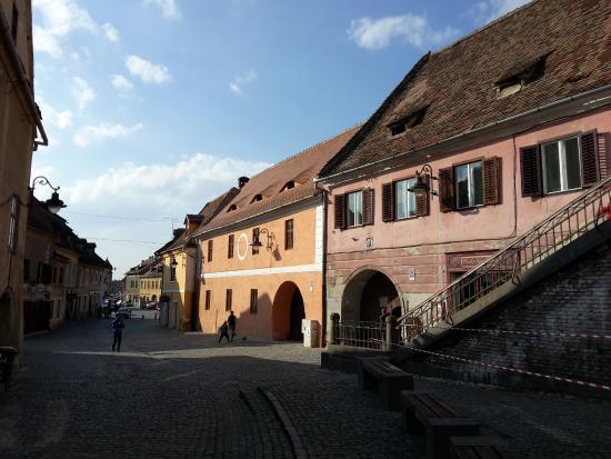 The Lower Town of Sibiu (orasul de jos)