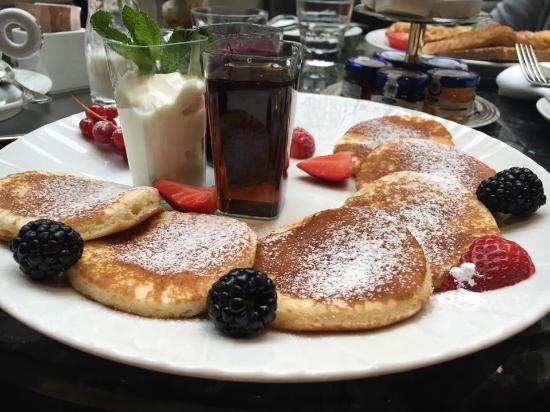 Entire Wheat Pancake Dish