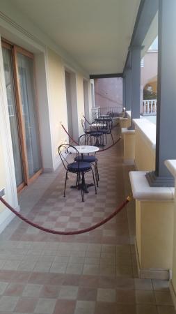 Hotel Porta Del Sole: Terrassen