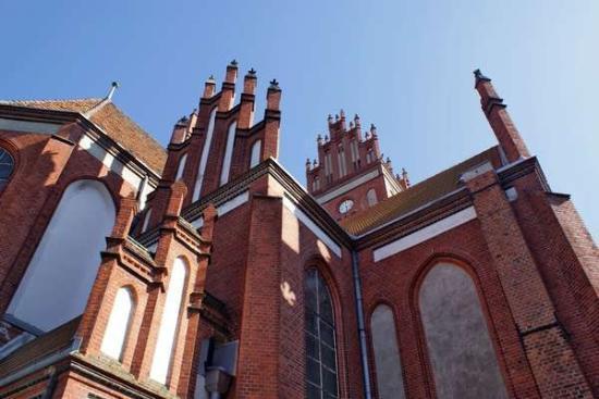 Pieniezno, Ba Lan: Kościół Piotra i Pawła. Poprzednia moja fotka jest z okolicy: kościół Jana Chrzciciela w Ornecie