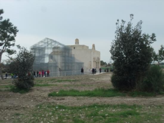 Siponto, Olaszország: ingresso al parco archeologico