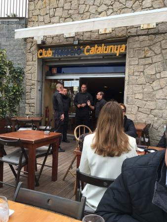 Restaurant de Club Natacio Catalunya