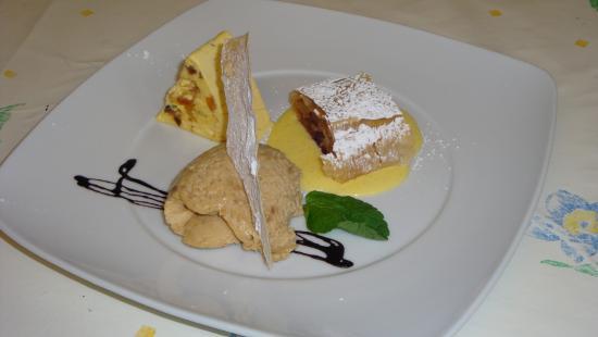 Tiers, Italia: Gasthof Edelweiss - Desservariation