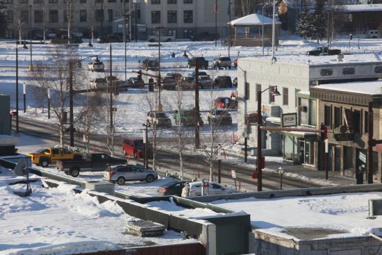 SpringHill Suites Fairbanks: 從房內看外景