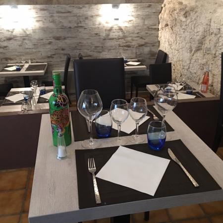 Rochefort du Gard, Fransa: Salle du Restaurant