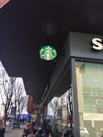 Starbucks wimbledon