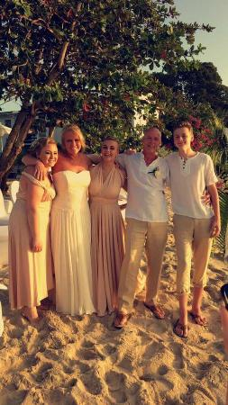 Holetown, Barbados: Our beautiful wedding day x