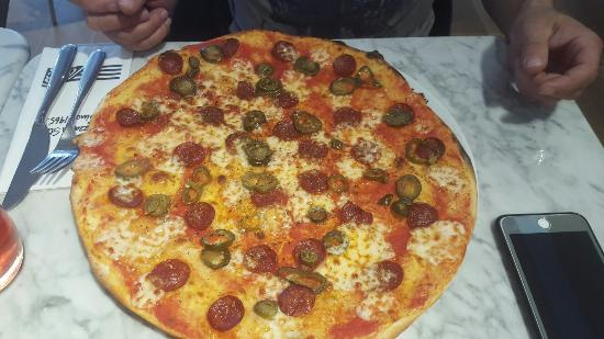 Yummy Pizza Picture Of Pizza Express Telford Tripadvisor