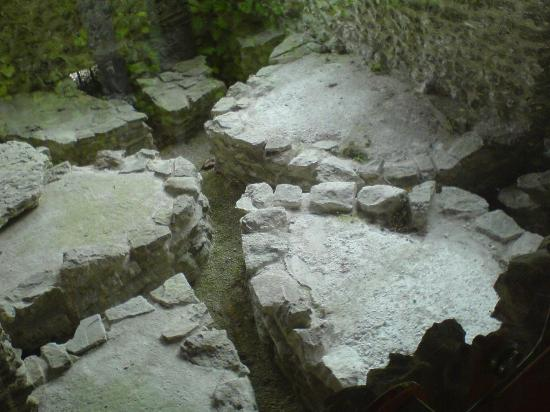 Romano-British House: Remains of the underfloor heating system