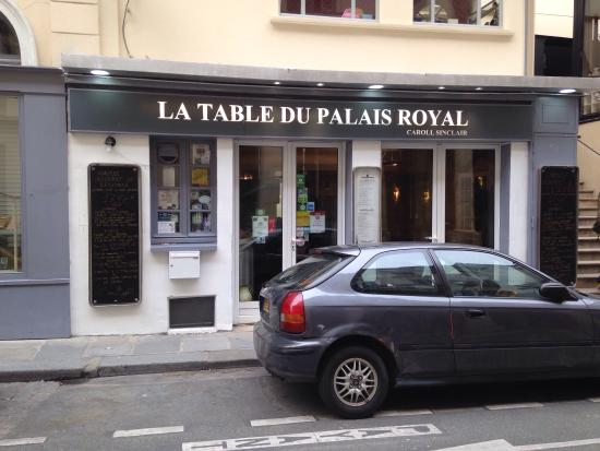 Picture Of La Table Du Palais Royal Paris Tripadvisor