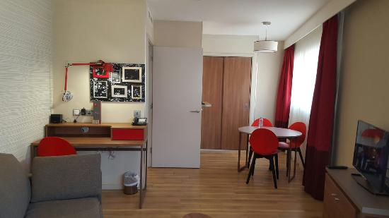 one bedroom apartment picture of aparthotel adagio birmingham city rh tripadvisor co za