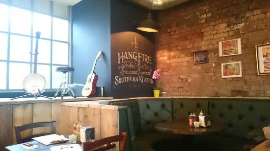 Hangfire Southern Kitchen Menu