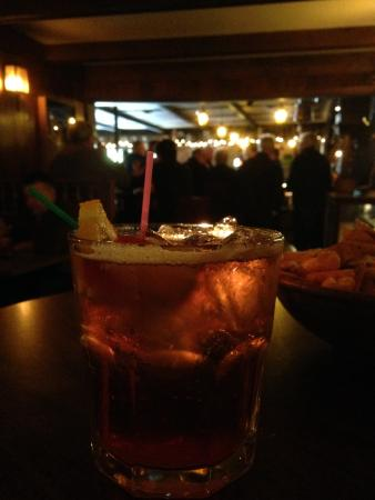 Sauk City, วิสคอนซิน: A Wisconsin staple...the Brandy Old Fashioned! I like mine sweet.