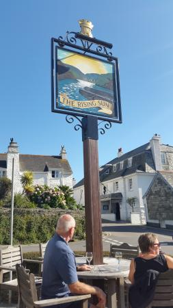 St Mawes, UK: The Rising Sun Pub