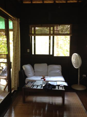 Bali Rica Casitas: Sitting area/living room
